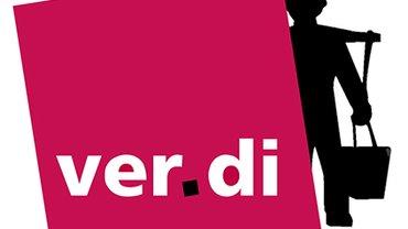 ver.di-Logo mit Hummelmann