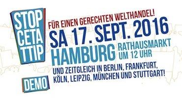 TTIP Demo Bundesweiter Aktionstag