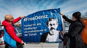 Freiheit für Deniz Yüzel gefordert