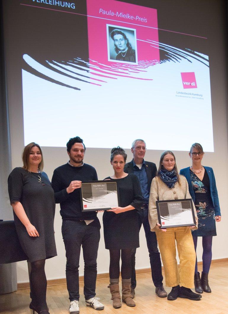 Paula Mielke Preisverleihung 2016