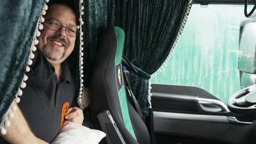 Mein Arbeitsplatz: Sven Fritsche, 46 Jahre alt, Berufskraftfahrer