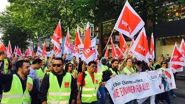 Streik Einzelhandel