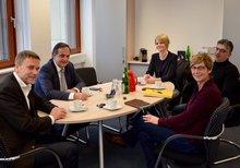 Knut Fleckenstein im Gespräch mit ver.di Hamburg