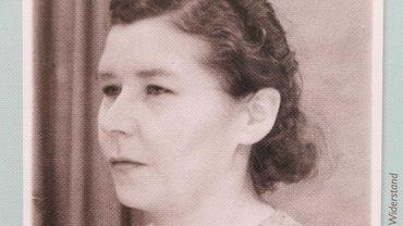 """Die Gewerkschafterin Luise Katholy wird 1937 verhaftet. Sie hatte in Leipzig die Parole """"Nieder mit Hitler"""" verbreitet"""