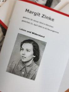 Deckblatt der Biografie von Margit Zinke