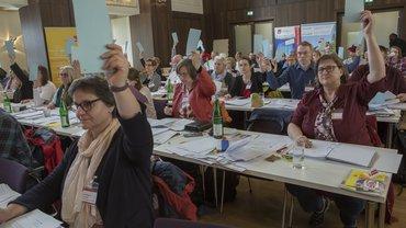 Abstimmung im Plenum