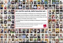 Foto-Petition des nicht-pädagogischen Personals an Hamburger Schulen.