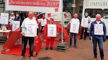 """Aktion """"Seniorenresidenz 2020"""" am 7.9.2020 in der Ottenser Hauptstr."""