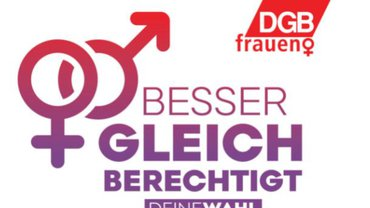 Logo der DGB-Frauen